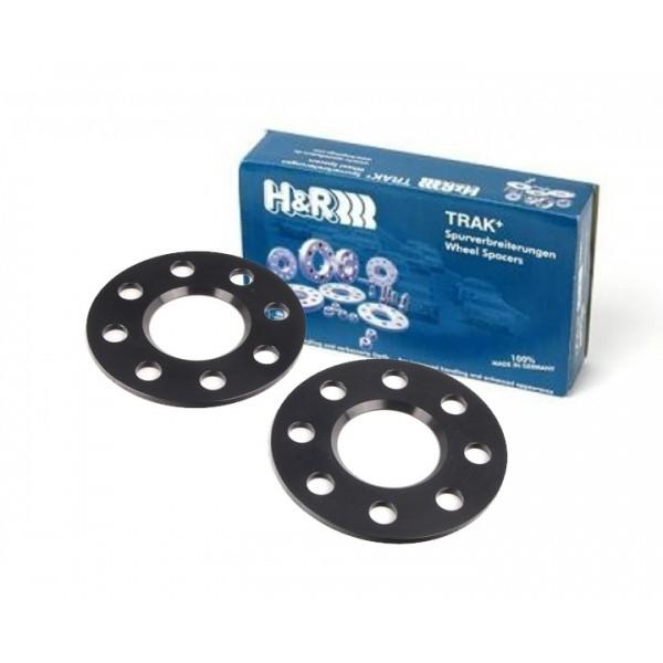 H&R Wheel Spacers 5x120 72,5 DR10 5mm zwart